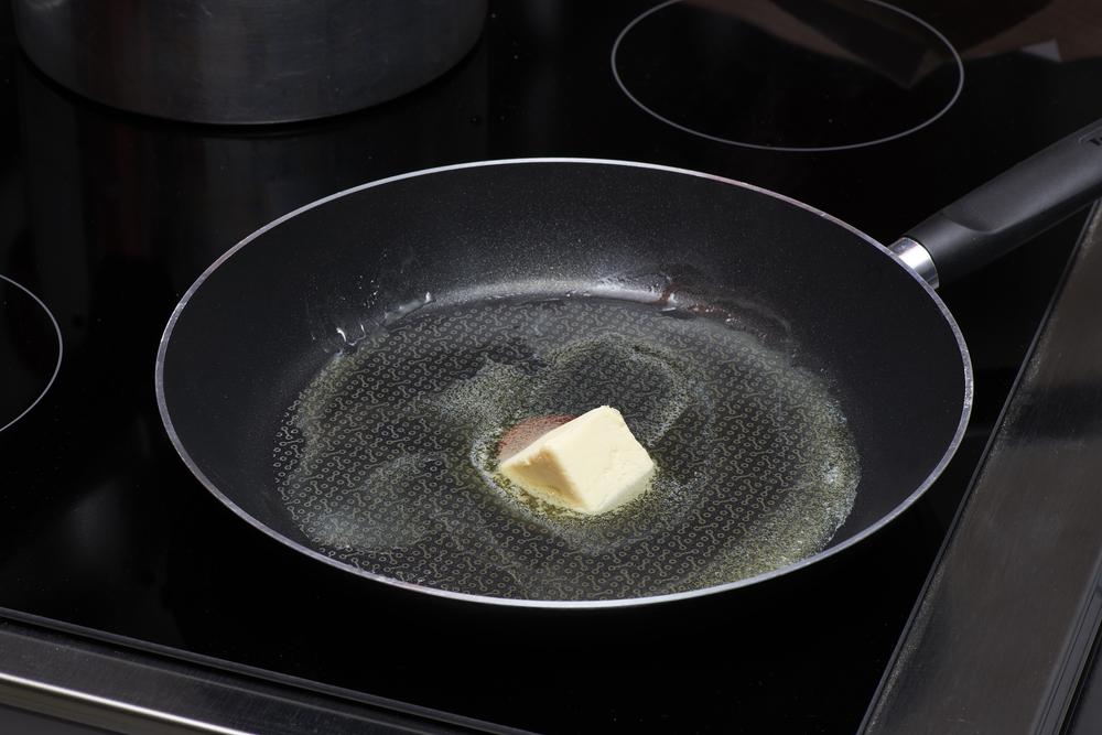 バター 温める