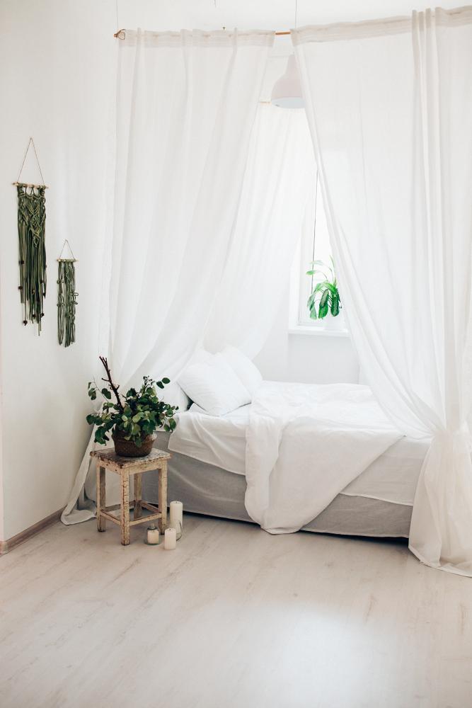 天蓋カーテン ベッド
