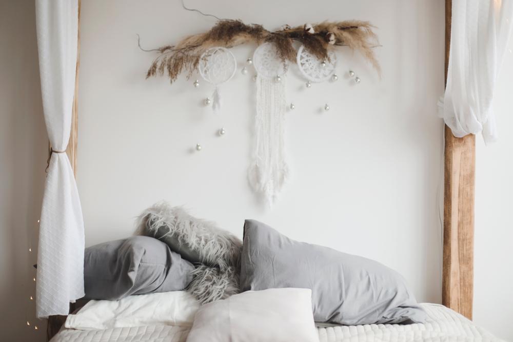 天蓋ベッド 飾りつけ