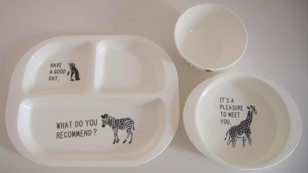 ダイソー 子供用食器 プラスチック