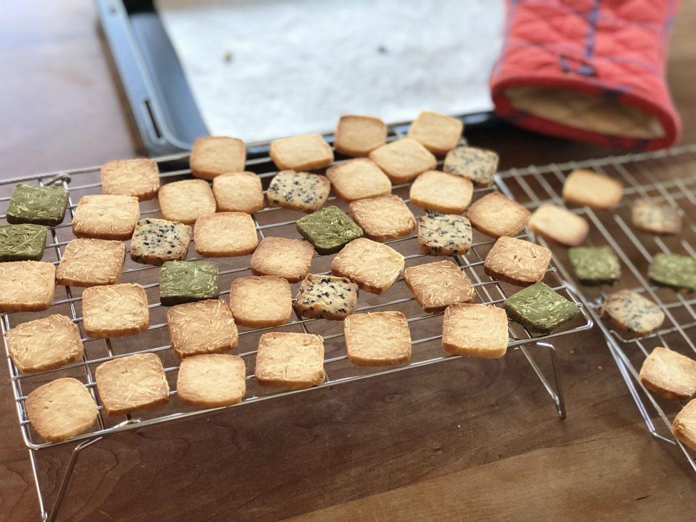米粉のプレーンクッキー