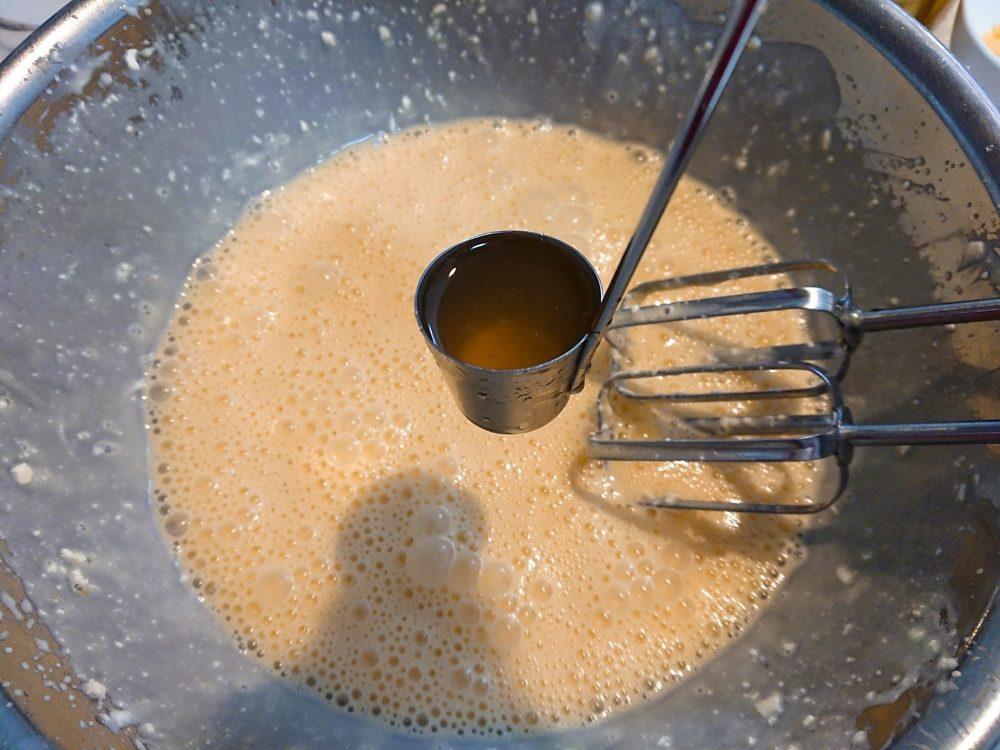 レモンチーズケーキ バニラエッセンス