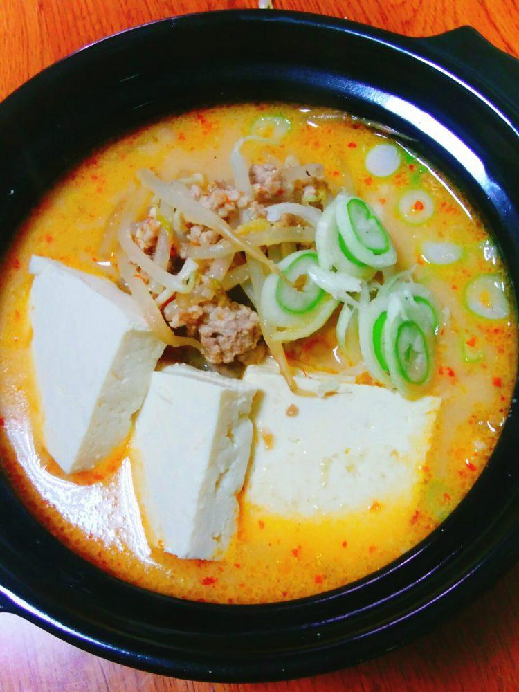坦々風スープ