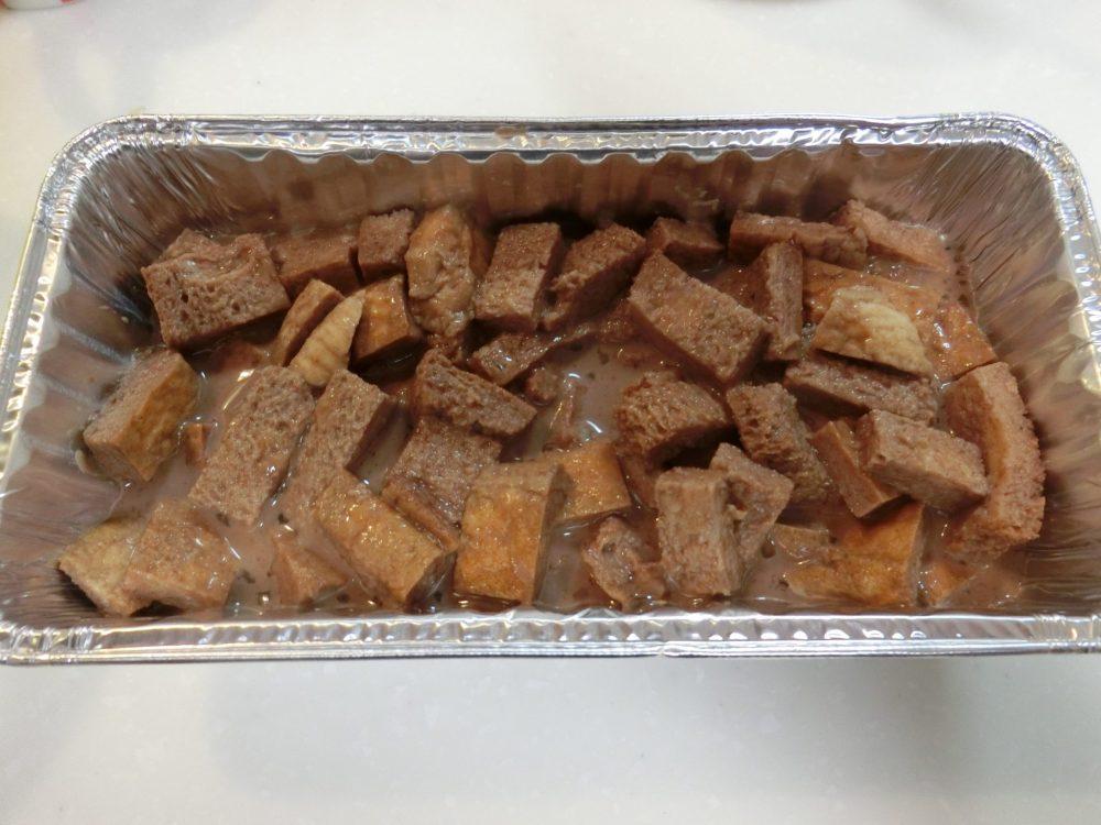 パン耳ココアケーキ 作り方