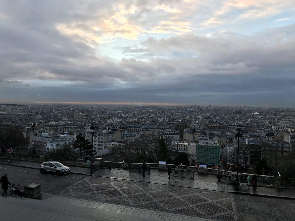 パリ モンマントルの丘