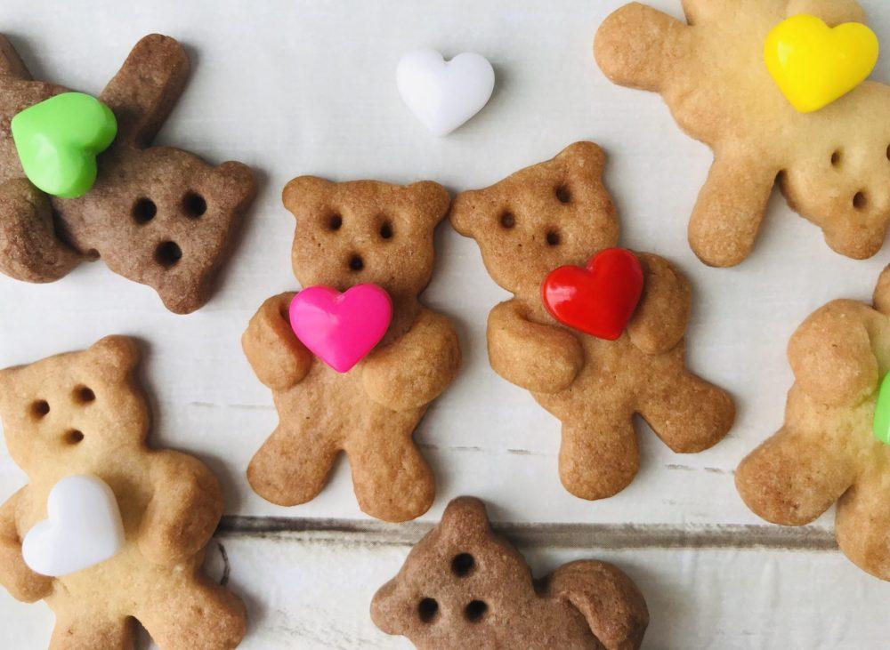くまさんクッキー 完成