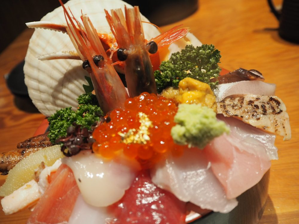 金沢市 山さん寿司 海鮮丼