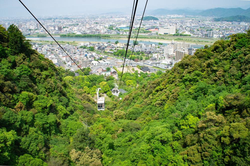 岐阜 ロープウェー 金華山
