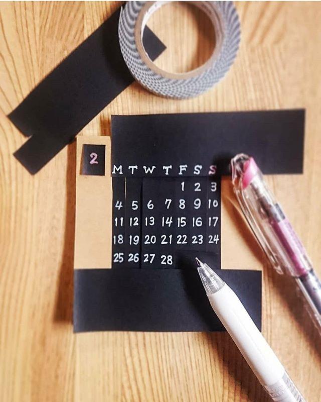 カレンダー 手作り