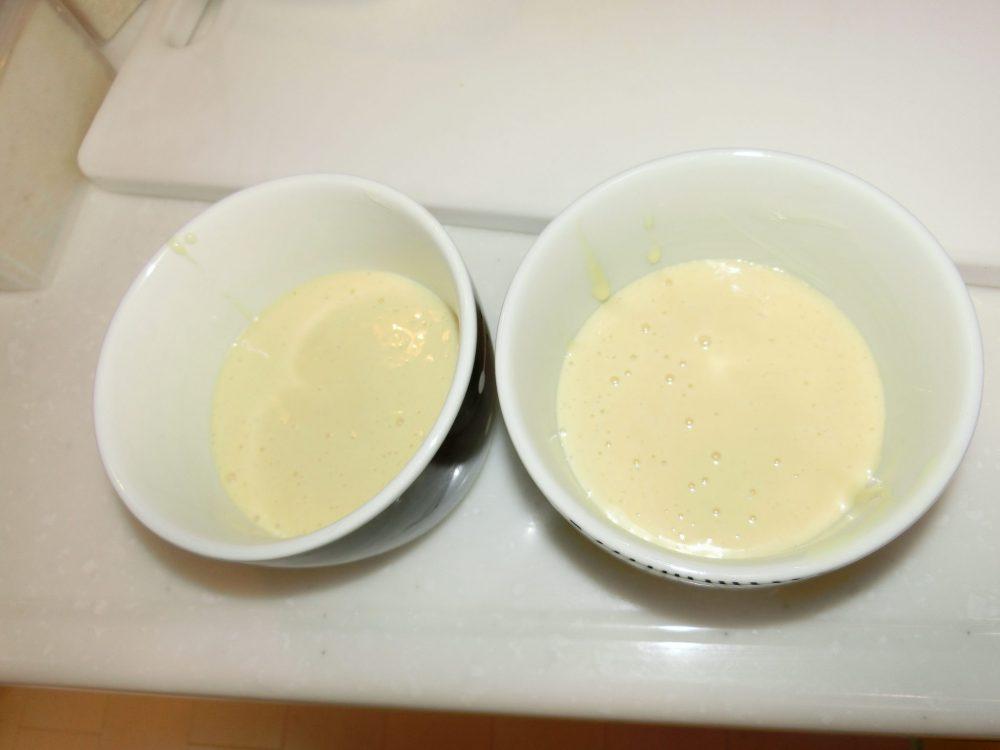 カップケーキ ホットケーキミックス 作り方