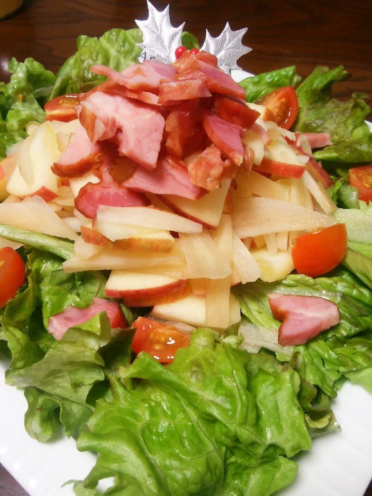 ヤーコン サラダ