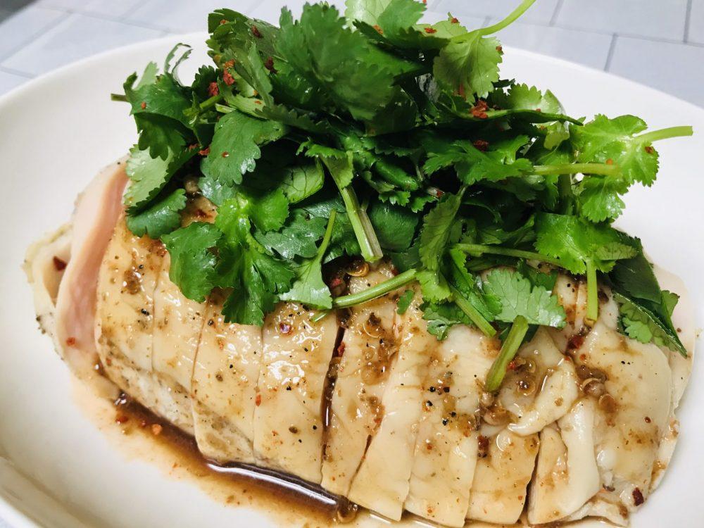 上海風蒸し鶏