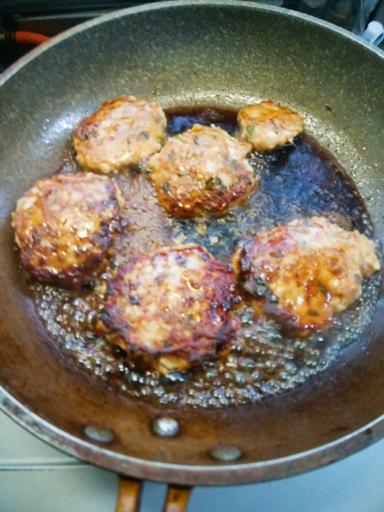 ヤーコン入り鶏つくね焼き 作り方
