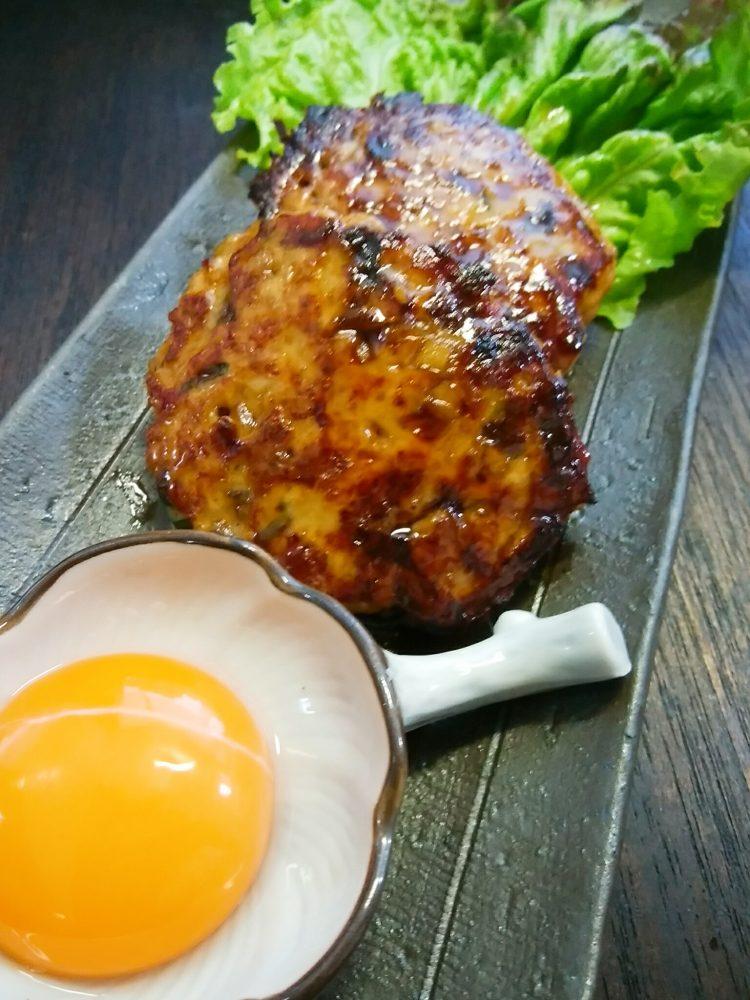 ヤーコン入り鶏つくね焼き