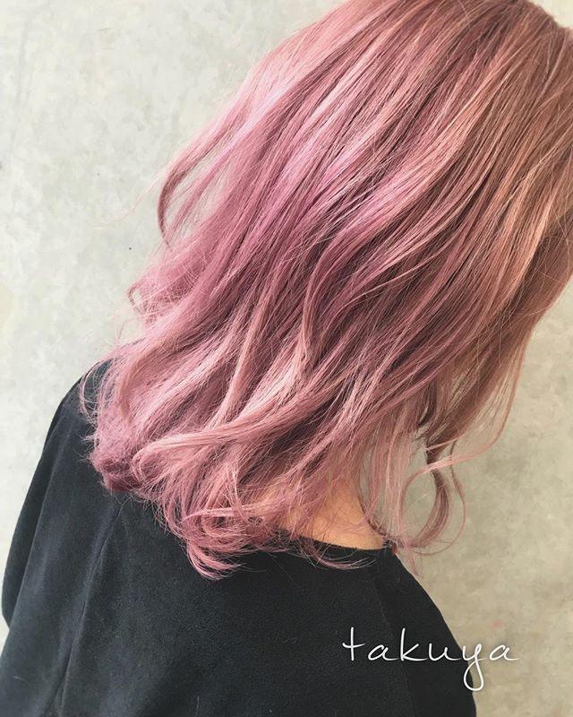 ピンクアッシュ カラー