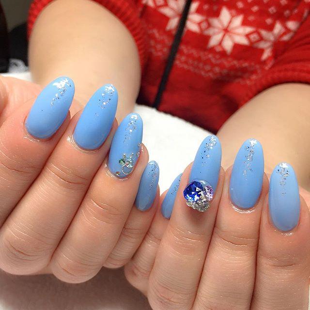 ブルー ネイル