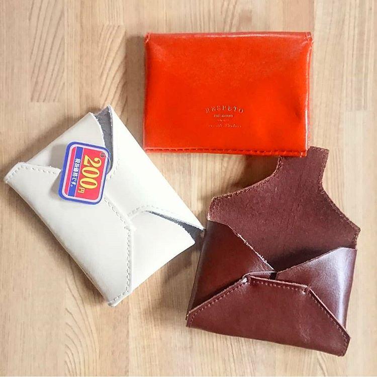ダイソー 本革カードケース