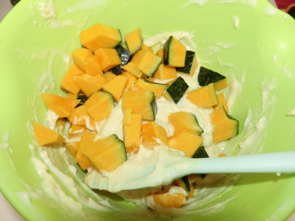 ケークサレ かぼちゃ 作り方