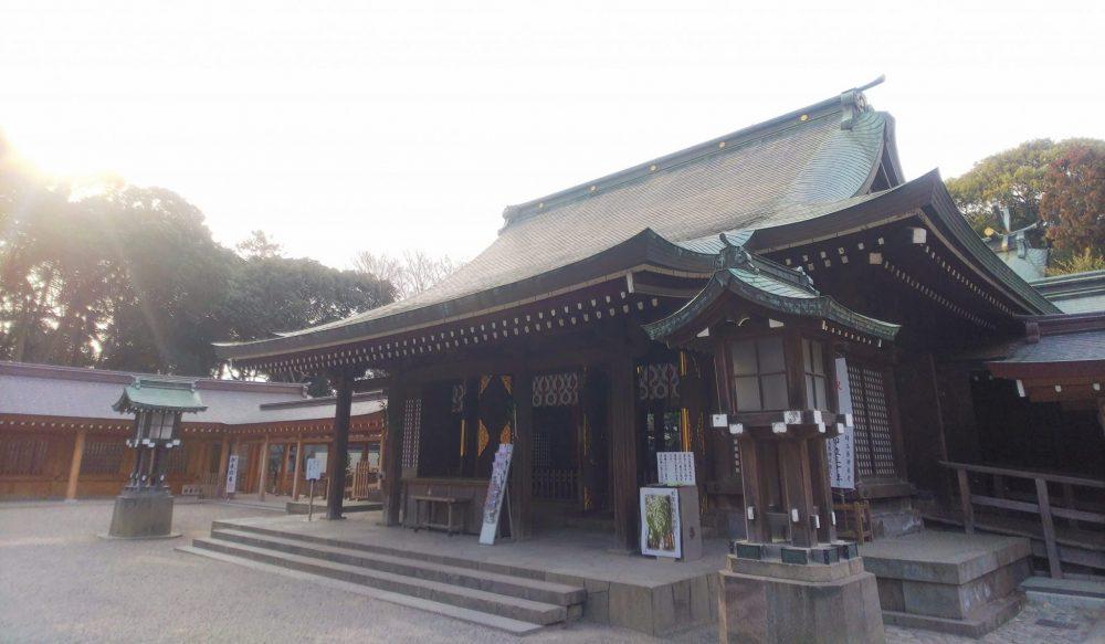 本殿 氷川神社