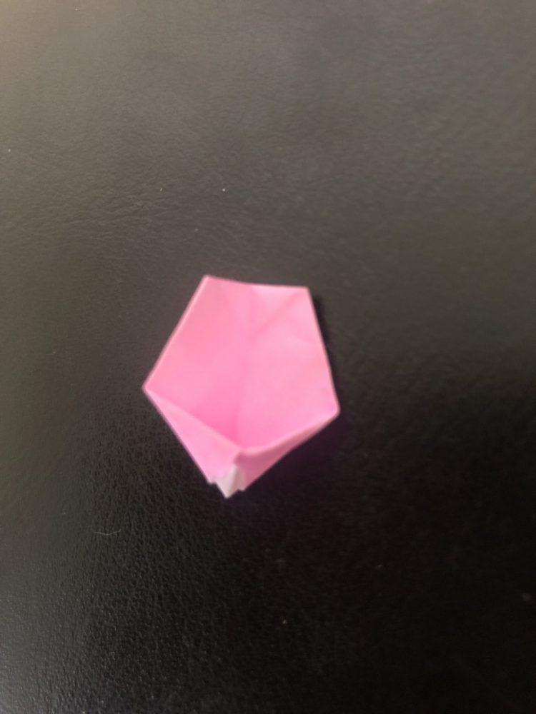 桜 折り紙 折り方