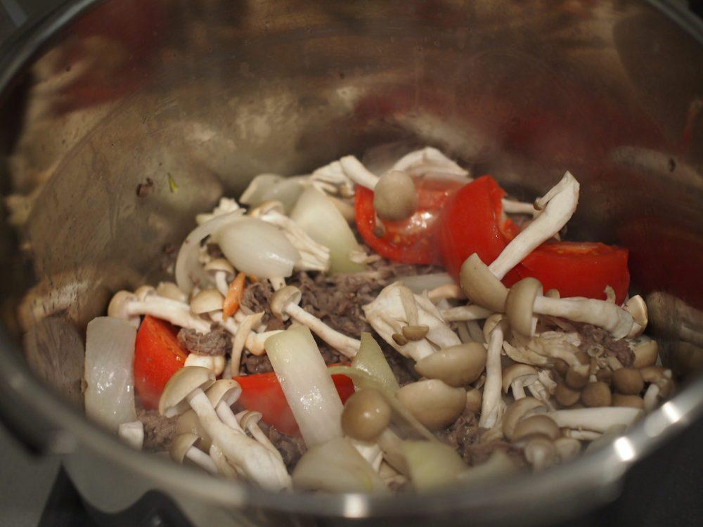 ハッシュドビーフ 作り方