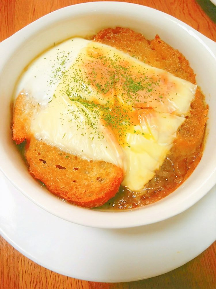 オニオングラタンスープ 作り方