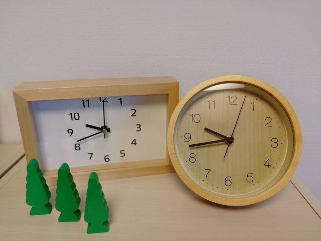 ニトリ 時計