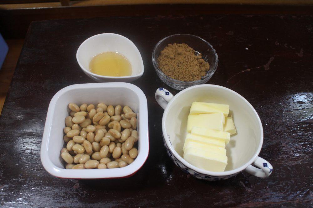 大豆バターラスク 材料