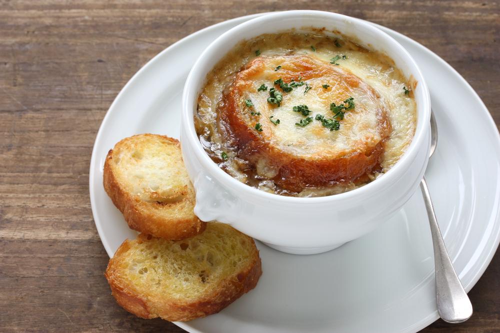 スープ フランスパン