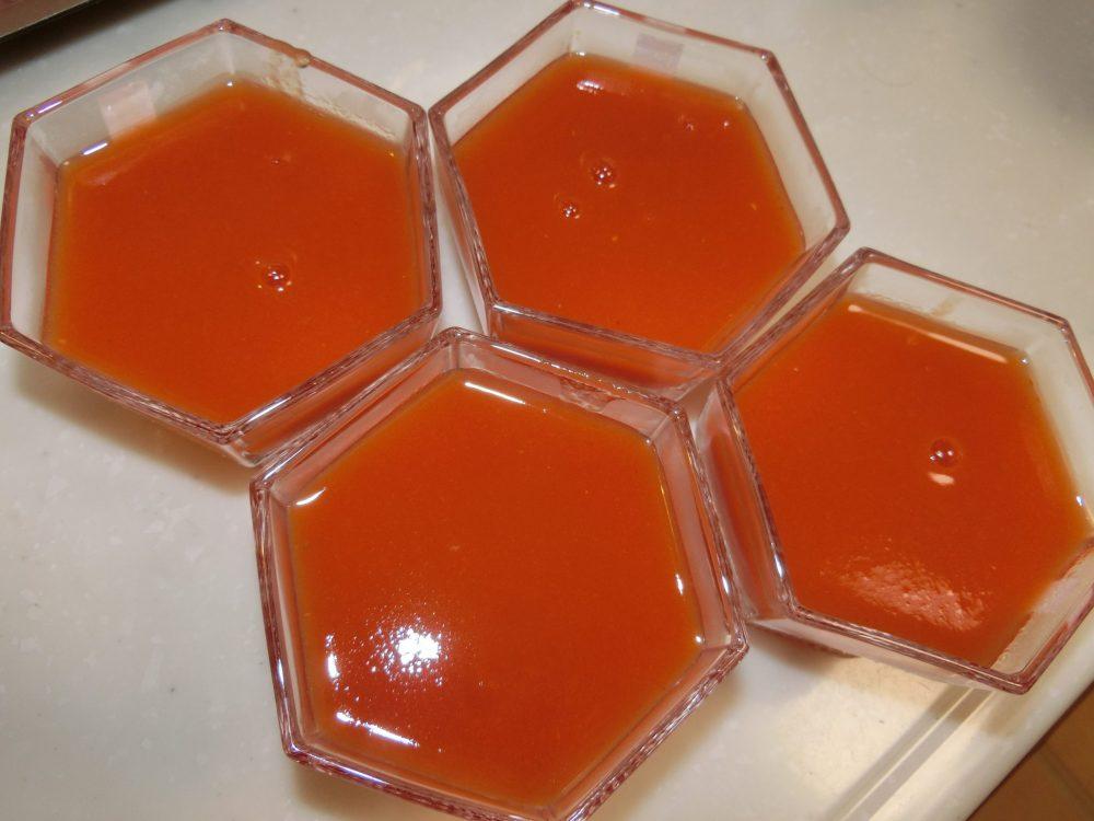 トマトオレンジ寒天 作り方