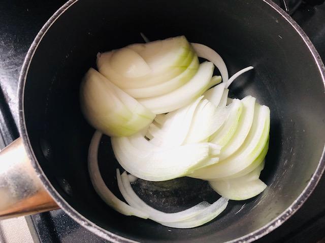 玉ねぎ 味噌汁 作り方