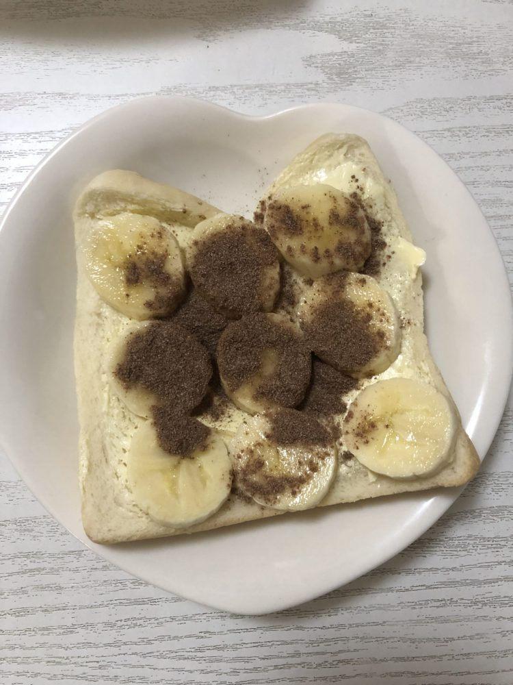 バナナチョコパン 作り方
