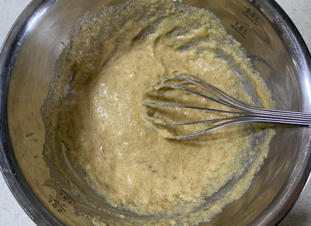 チョコバナナケーキ 作り方