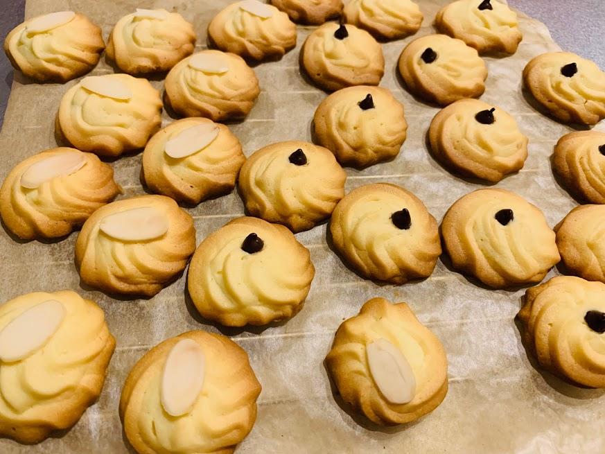 絞りクッキー 完成
