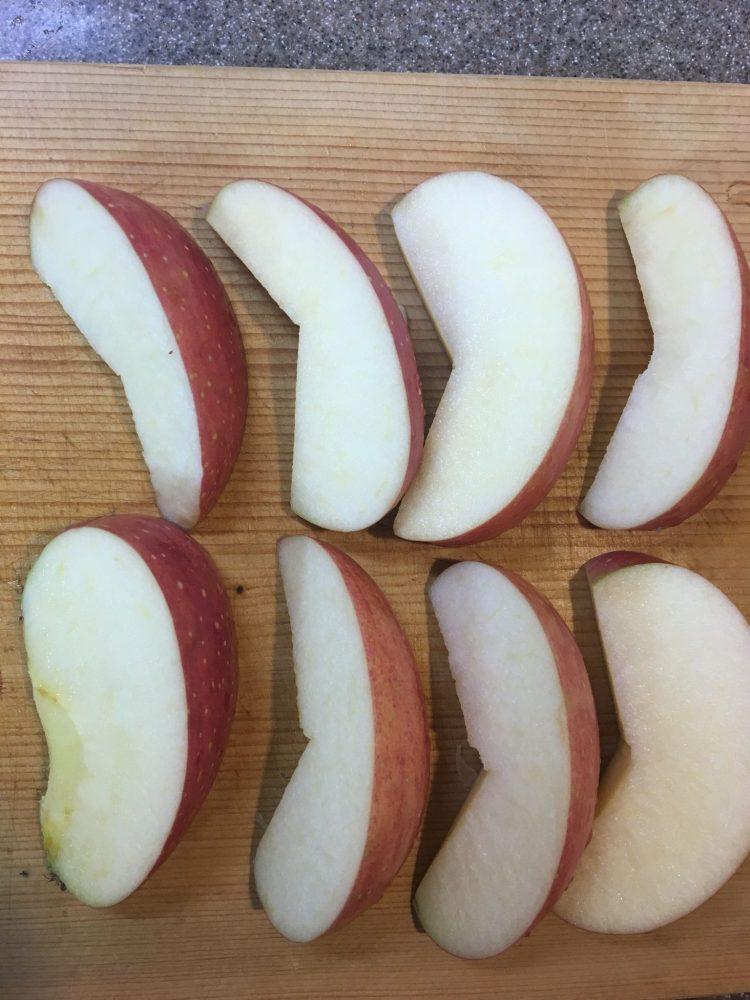 りんご 切り方