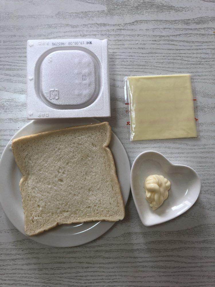 納豆マヨパン 材料