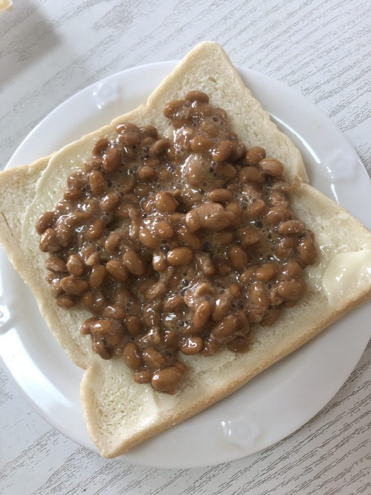 納豆マヨパン 作り方