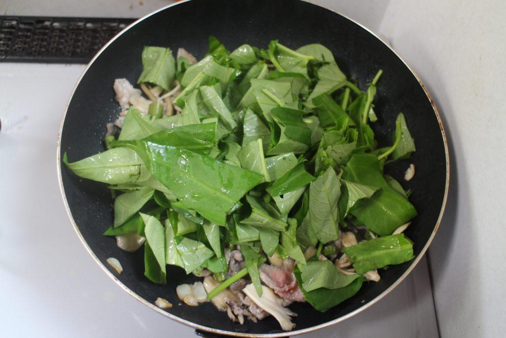 空芯菜 作り方