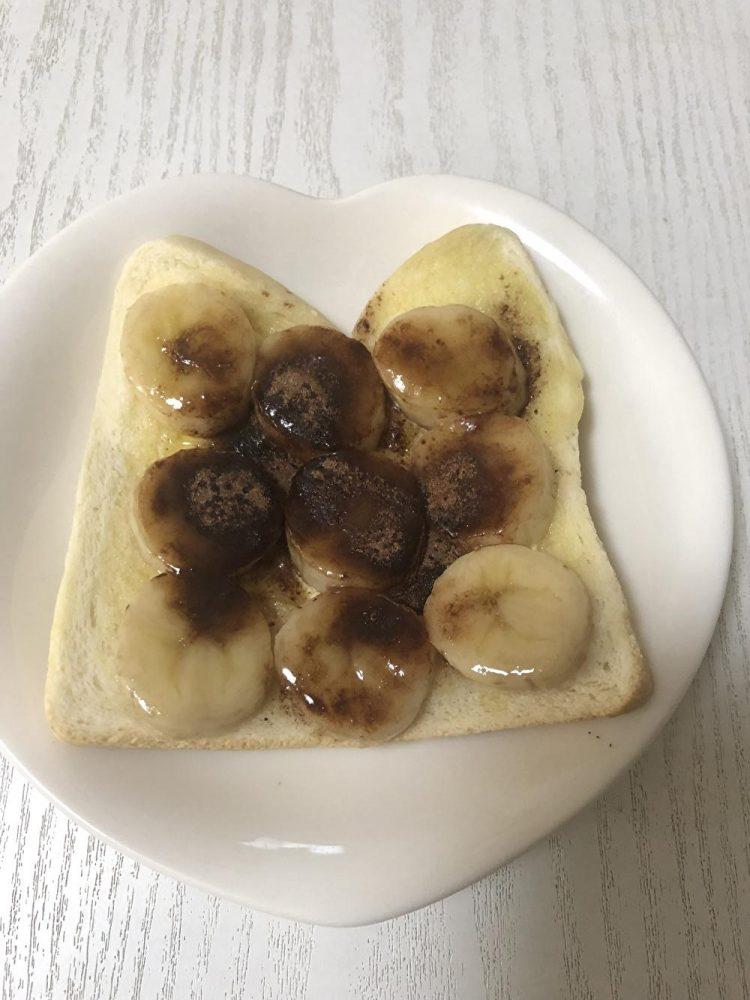 バナナチョコパン