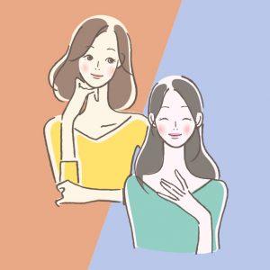 女性 2人
