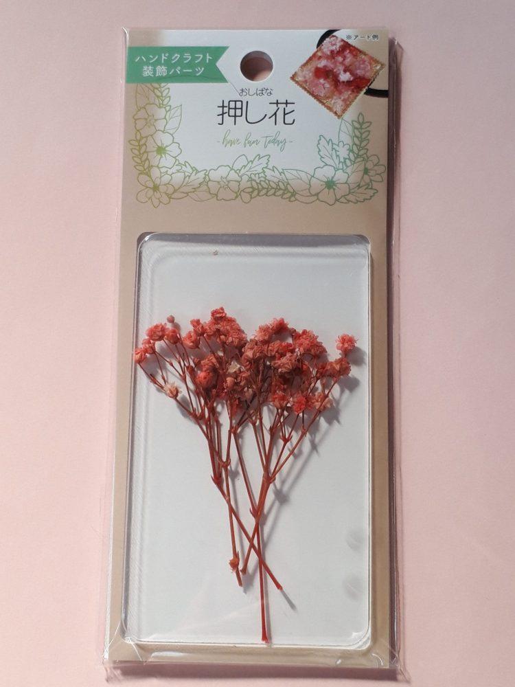 セリア 押し花