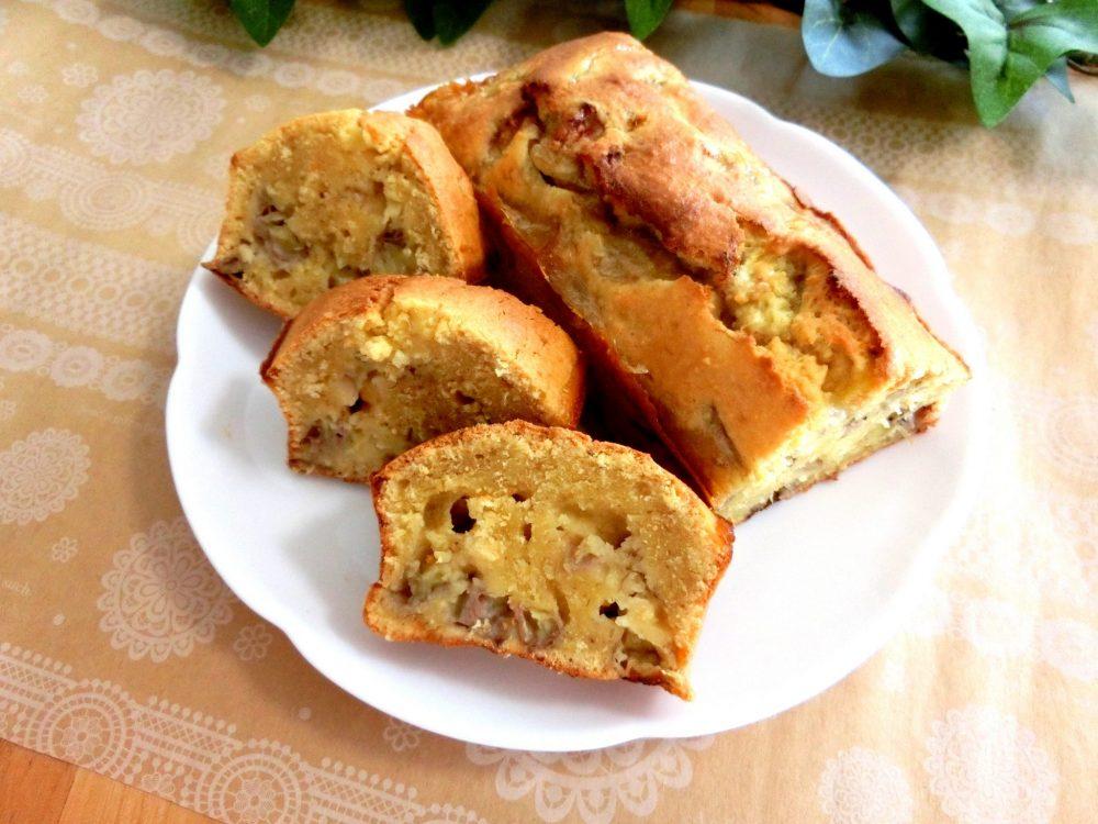 バナナ ケーキ