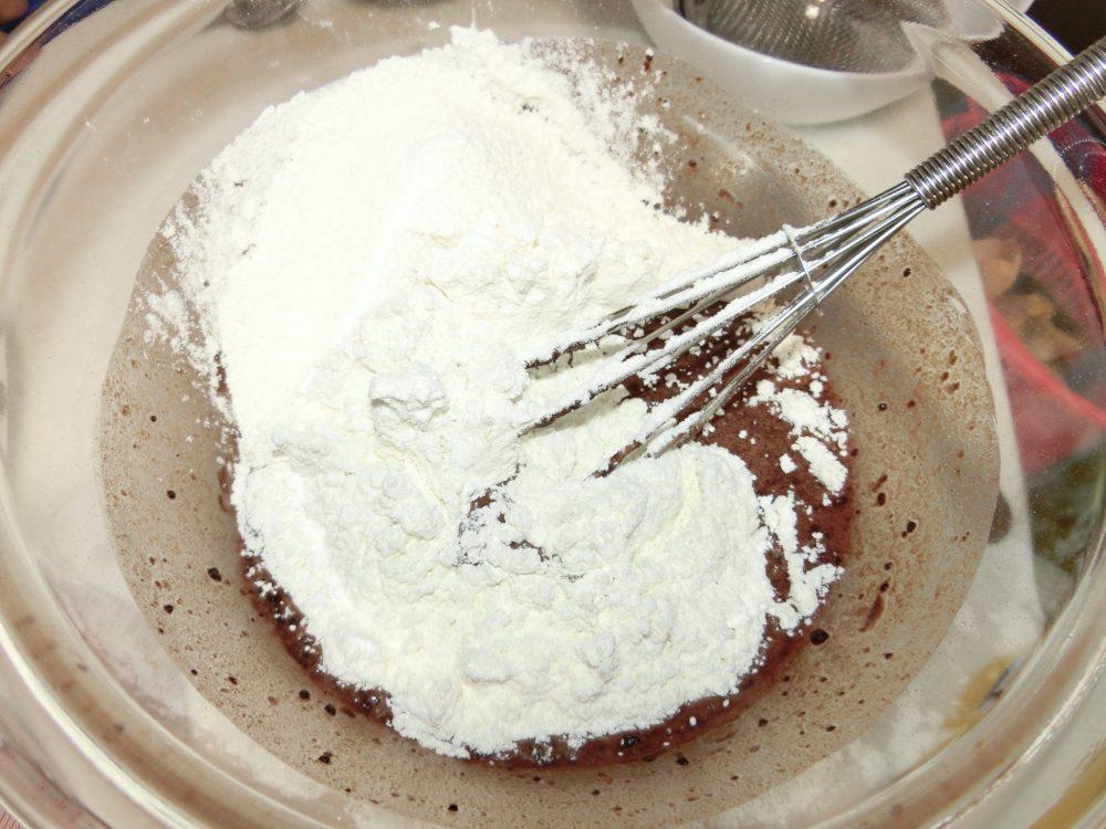 ひじき ココア蒸しパン 作り方