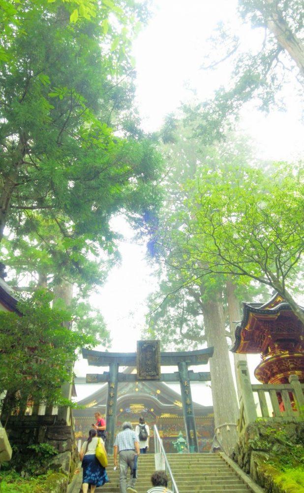 三峰神社 階段