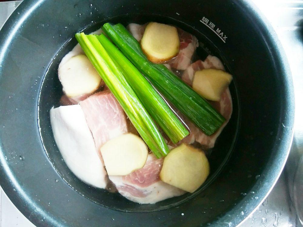 豚の角煮 作り方