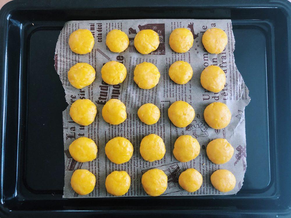 かぼちゃクッキー 作り方