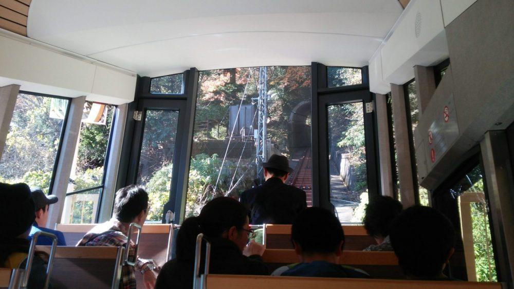 神奈川県 大山 ケーブルカー