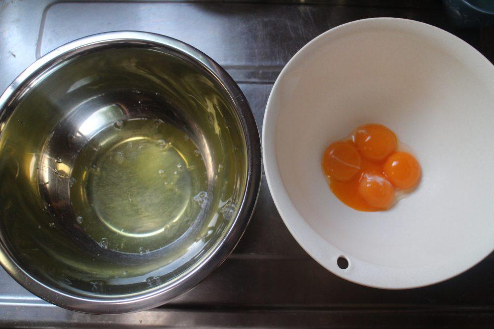 卵黄 卵白