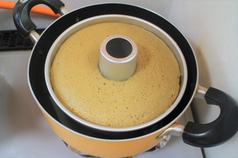 シフォンケーキ 作り方
