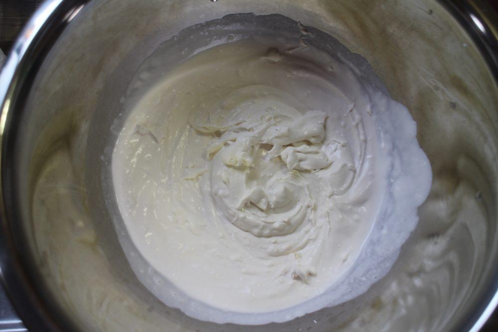チーズクリーム 完成